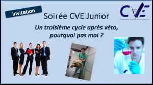 Logo CVE Junior : 3e cycle 8:11:2012